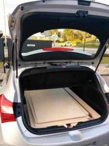 Holz im Auto